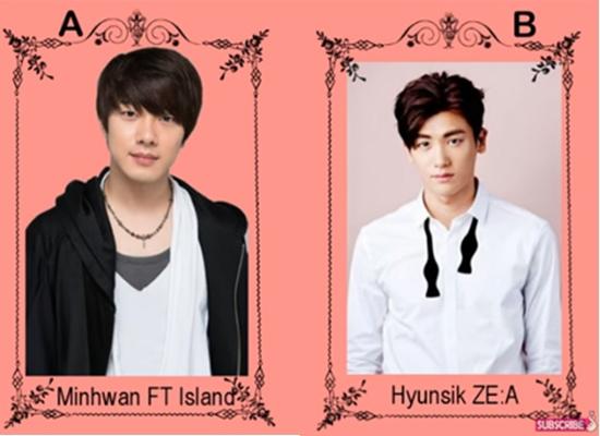 So sánh tuổi giữa các idol Hàn