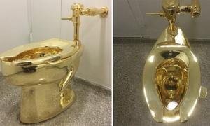 Toilet dát vàng sẽ lắp đặt tại cung điện Blenheim cho người Anh sử dụng