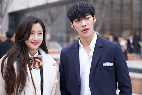 Woo Do Hwan từng dính tin đồn hẹn hò với Moon Ga Young - bạn diễn trong phim  Tempted