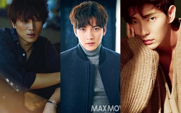 Ji Chang Wook (giữa) là sự lựa chọn hoàn hảo nhất cho vai Hawkeye. Anh có nhiều kinh nghiệm đóng cảnh hành động lẫn tâm lý sau bộ phim Healer. Ngoài ra, Ji Sung (trái)và Lee Joon Ki cũng là những phương án được netizen đề cập.