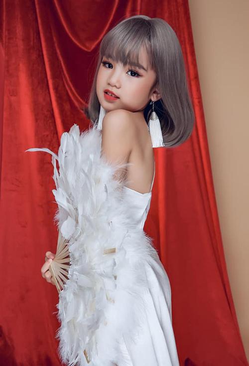 Nhan sắc cô bé Việt vừa đăng quang Hoa hậu Hoàn vũ nhí 2019 - 8