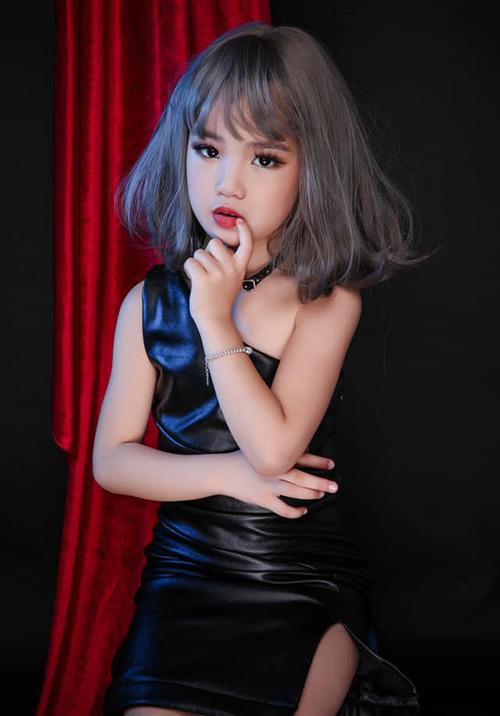 Nhan sắc cô bé Việt vừa đăng quang Hoa hậu Hoàn vũ nhí 2019 - 9