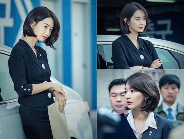 Tạo hình của Shin Min Ah trong phim mới.