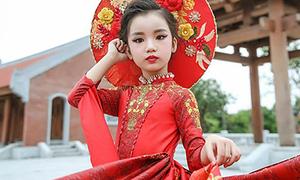 Nhan sắc cô bé Việt vừa đăng quang Hoa hậu Hoàn vũ nhí 2019