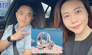 Đàm Thu Trang khoe nhẫn cưới, đồng ý làm vợ Cường Đô La