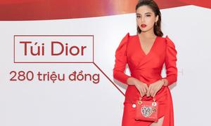 Hoa hậu Kỳ Duyên: Váy 150 triệu đồng, phụ kiện gần 600 triệu