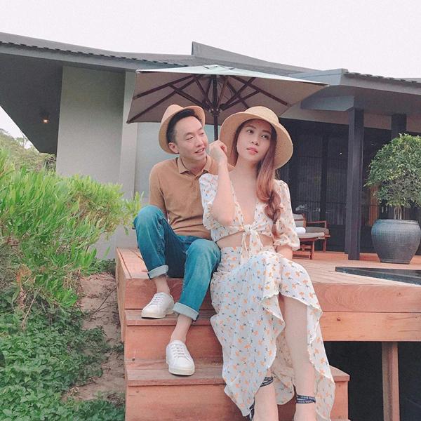 Cường Đô La và Đàm Thu Trang.