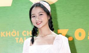 Lâm Thanh Mỹ ra dáng thiếu nữ xinh đẹp ở sự kiện
