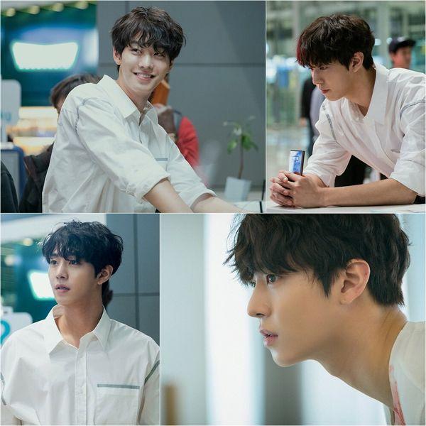 Ahn Hyo Seop điển trai trong phim mới.