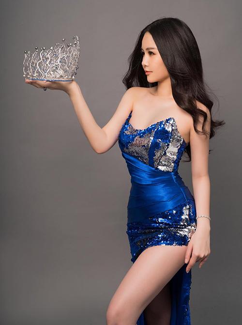 Ngân Anh chuẩn bị trao vương miện Hoa hậu Đại dương cho người kế nhiệm - 1