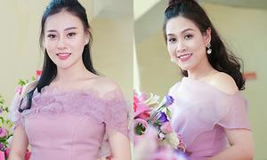 Phương Oanh, Hà Hương đắt show trình diễn thời trang