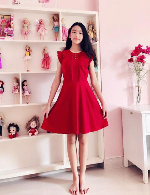 Không chỉ có nhan sắc xinh đẹp, chiều cao tốt, Thảo Linh còn có đôi chân thẳng dài. Nhiều khán giả cho rằng cô bé tương lai có thể thi Hoa hậu hay theo đuổi con đường thời trang. Cô bé mong sau này trở thành nhà thiết kế thời trang, đồng thời muốn kinh doanh như mẹ.