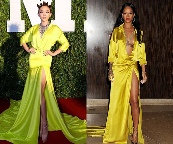 Người đẹp thường lên tiếng phủ nhận mỗi khi dính vào nghi vấn copy trang phục.