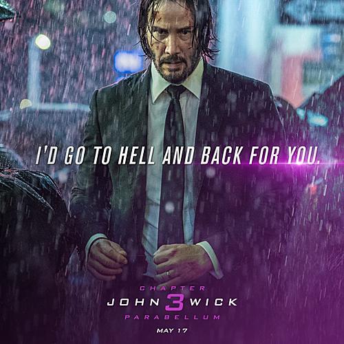 Gã sát thủ John Wick cô độc, lúc nào cũng mang trên mình đầy vết thương.