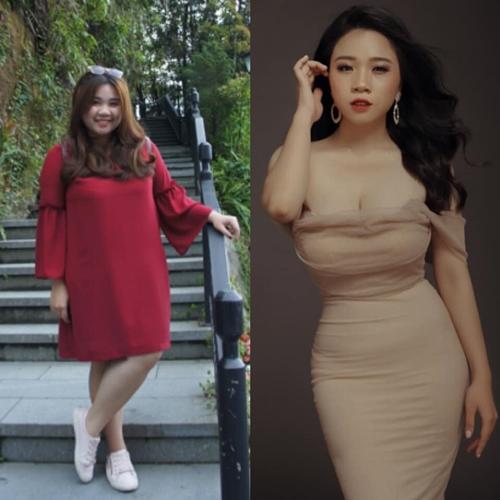 Cô gái Hà Nội cho biết đã giảm đến 30kg nhờ vào nỗ lực của bản thân. Cô đã ép mình vào chế độ ăn uống và tập luyện rất nghiêm khắc. Đánh đổi những cơn thèm ăn, Vân Anh vật lộn trong phòng tập chỉ để đốt cháy calo.