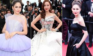 Người đẹp châu Á lộng lẫy ở LHP Cannes