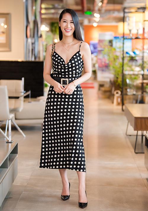 Hoa hậu quý bà Dương Thùy Linh.