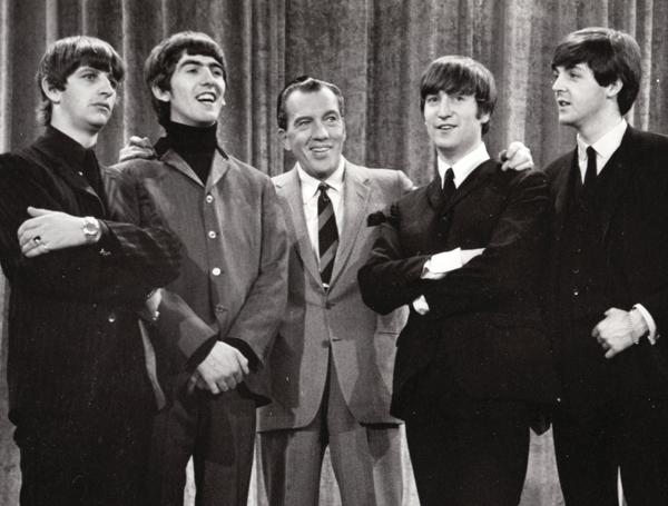 gợi nhớ đến hình ảnh The Beatles.