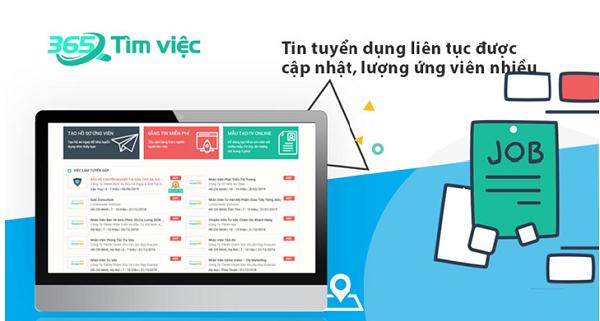 Timviec365 gợi ý cách tìm việc tại TP HCM - 1