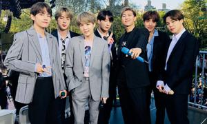 BTS khiến fan Mỹ 'gào thét điên cuồng' tại concert mùa hè của Good Morning America