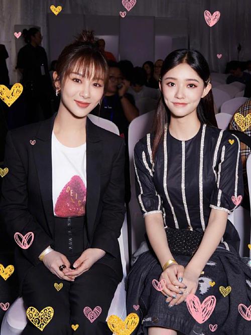 Lâm Doãn đăng ảnh chụp cùng Dương Tử thể hiện tình chị em thân thiết.