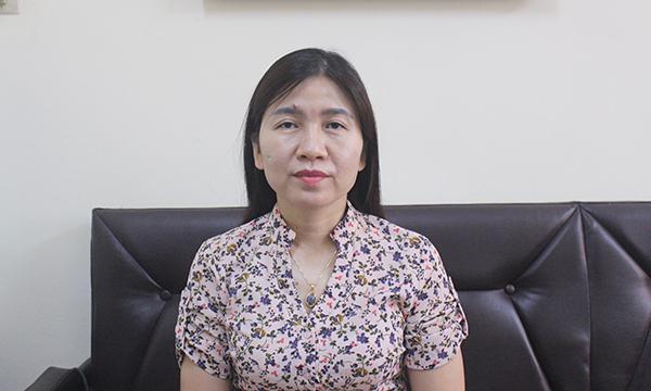 Bà Nguyễn Thị Nga, Phó Cục trưởng Cục Trẻ em.