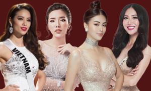 Phản ứng của Hoa hậu, Á hậu Việt khi bị tố vô ơn