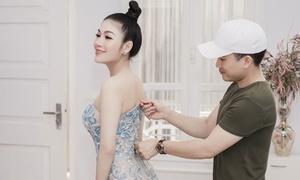 Tuyết Nga mang 50kg trang phục dự LHP Cannes 2019