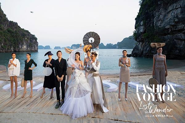 Hình ảnh hào nhoáng của show Fashion Voyage.