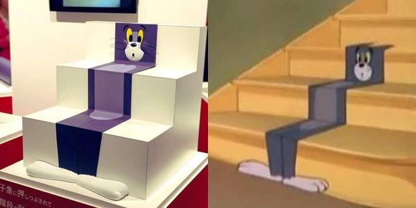 Khoảnh khắc mèo Tom bị ăn hành được trưng bày trong bảo tàng Nhật - 3