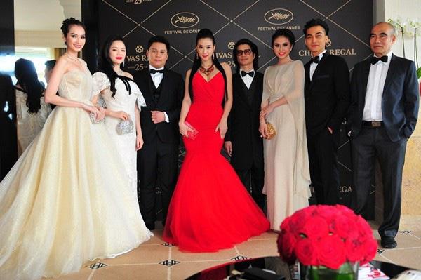 Các mỹ nhân Việt: Trúc Diễm, Lý Nhã Kỳ, Maya, Vân Trang góp mặt trên thảm đỏ Cannes 2013 với phong cách lộng lẫy.