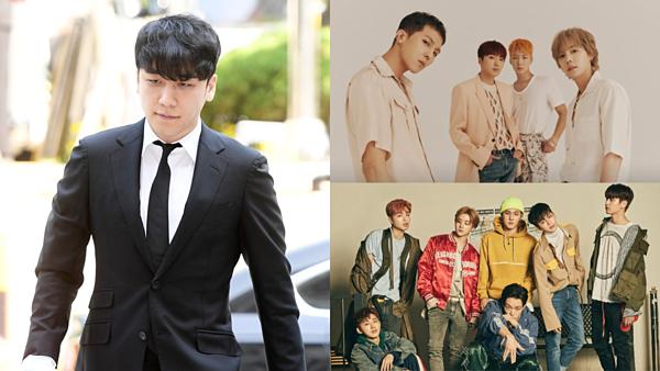 Scandal của Seung Ri ảnh hưởng không nhỏ tới YG lẫn các đàn em cùng công ty.