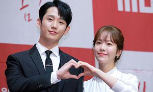 Jung Hae In 'tình bể bình' bên đàn chị Han Ji Min