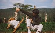 Chàng trai 9x mang cún cưng lên Đà Lạt chụp ảnh thanh xuân