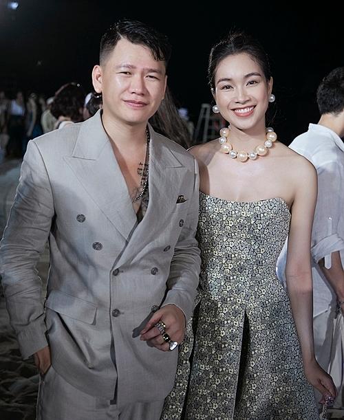 Coco Thùy Dung và NTK Hoàng Minh Hà.