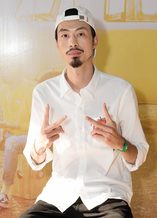 Rapper Đen Vâu.