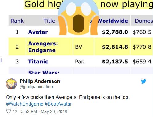 Chỉ còn một chút nữa thôi là Endgame sẽ đăng đỉnh.