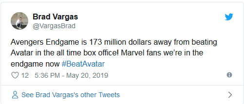 Các fan Marvel, chúng ta đang trong cuộc chiến cuối cùng để đánh bại Avatar.