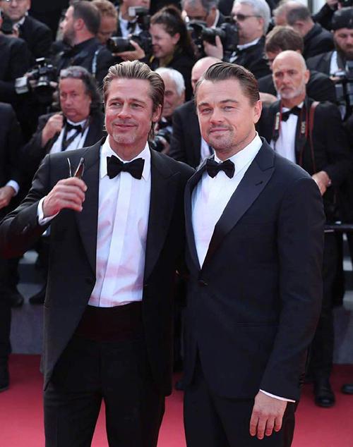 Đôi bạn Brad Pitt - Leonardo Di Caprio.