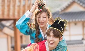 Trang Pháp - Lục Huy (Uni5) được mời ghi hình ở Hàn Quốc