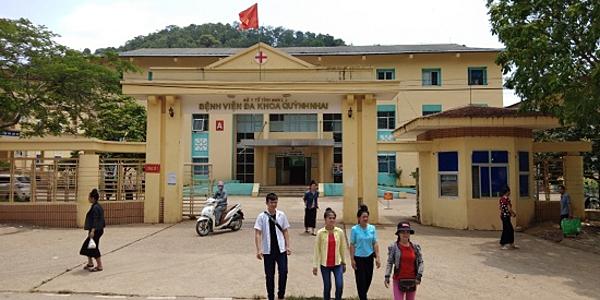 Bệnh viện Đa Khoa Quỳnh Nhai (Sơn La). Ảnh: Dân việt