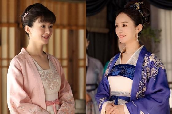 Triệu Lệ Dĩnh vào vai Minh Lan trong phim MinhLan truyện.