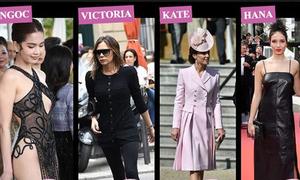 Ngọc Trinh và bộ đầm 'thấy hết mọi thứ' được tìm kiếm nhiều nhất trên báo Anh
