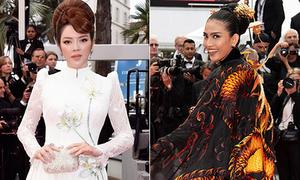 Những lần mỹ nhân Việt mang dấu ấn dân tộc lên thảm đỏ Cannes