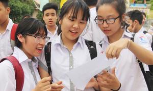 TP HCM công bố 135 điểm thi vào lớp 10