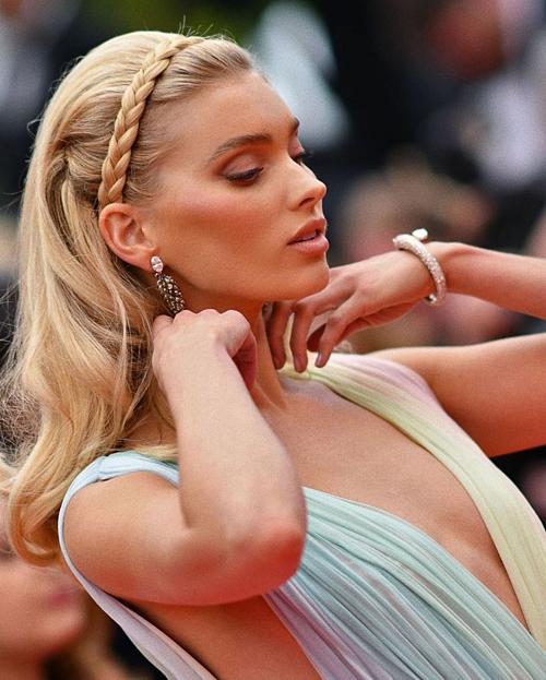 Những hình ảnh đẹp như cổ tích tại Cannes của thiên thần nội y Elsa Hosk - 3