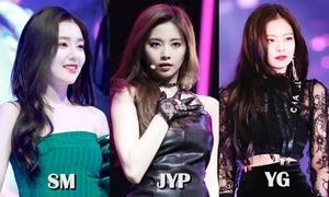 Vị thế SM - YG - JYP thay đổi hoàn toàn sau 5 năm