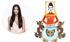Hoàng Thùy: 'Nếu váy Bàn thờ được chọn, tôi sẽ mặc tại Miss Universe'