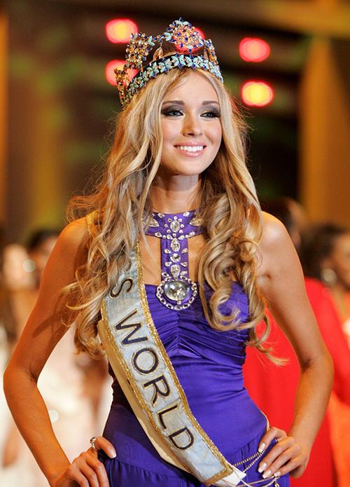 Ngay từ thời điểm Miss World năm 2008,Ksenia Sukhinova