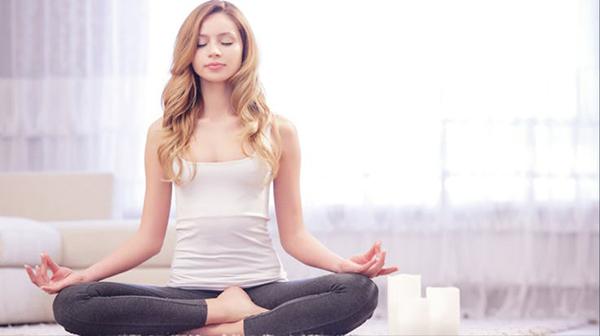 Thiền giúp tĩnh tâm lấy lại trạng thái cân bằng.